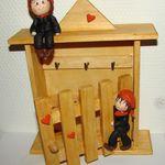 """Boîte à clés """"petits ramoneurs""""..."""