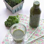 Green smoothie au chou kale