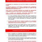 Notes explicatives sur la récente décision de l'Assemblée Nationale Constituante concernant la coexistence avec l'Assemblée Nationale