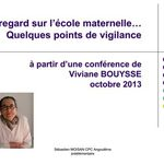 Document Points de vigilance de Viviane Bouysse par Natacha