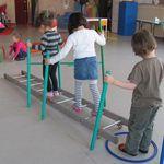 Parcours gymnique chez Manu