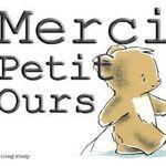 Merci Petit Ours semaine 35(2014-2015)