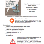 Sac à album Le pigeon a besoin d'un bon bain chez Pierrick