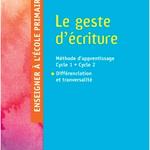Présentation de la dernière édition du Geste d'écriture  par Danièle Dumont
