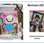 Bortusk Leer et Keith Haring - Portraits d'artiste chez Kaloo K2