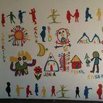 Fresques à Epagny avec Patrick Bonjour