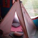 Cabane dans la classe chez Sylvie L