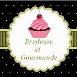 Cupcakes Mme chantilly, c'est brodé