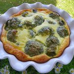 GRATIN DE BROCOLI (thermomix)