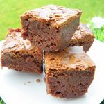 FUDGE BROWNIES AU CHOCOLAT (Thermomix)