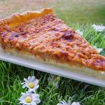 TARTE THON TOMATE AIL ET FINES HERBES (thermomix)