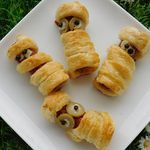 LES MOMIES :  HOT DOG FEUILLETE  (thermomix)