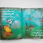 "Art Journal Page ""Make Things Happen"""