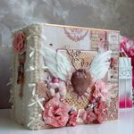 Wedding mini album Cover binding and pages tutorial