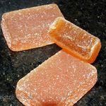 Pâtes de Fruits à l'Orange