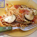 Spaghetti alla Norma (ou à l'aubergine)