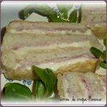 Terrine croque monsieur