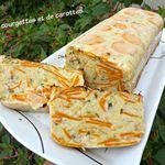 Pain de courgettes et de carottes