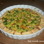 Tarte brocolis camembert
