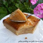 Gâteau pudding aux petits beurre et pommes