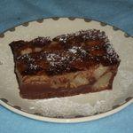 Clafoutis de poire au chocolat