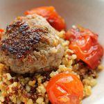 Boulette d'agneau et quinoa