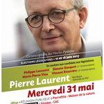 Meeting départemental législatives, ,avec Pierre Laurent, secrétaire national du PCF