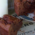 Gâteau fondant au chocolat et à la crème fraîche - article solidaire pour les Petits Frères des Pauvres
