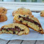 Cookies au coeur fondant de pâte à tartiner