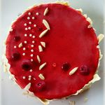 Entremets framboise et combava - Battle Food #53