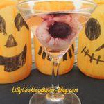 Œil de goule-tini Halloween