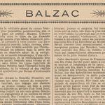 "Léa Saint-Didier ""Balzac"" (1921)"