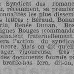 Syndicat des romanciers français (1924)