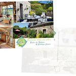 Carte postale personnalisée pour gîte, hébergement touristique
