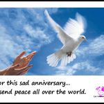Quote of the day - For peace in the world