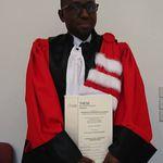 CENTRAFRIQUE : Odilon Prince Tomandji désormais dans le cercle restreint des docteurs en droit
