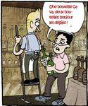 A la nôtre ! Le vin c'est bon pour la santé !