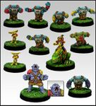 Greebo : des figurines sous influence (Blood Bowl fever)