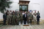 Visit of the Hellenic Minister of Defence to the EUFOR-RCA OHQ in Larissa (Greece)