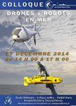 Drones et Robots en mer (17 dec .2014)