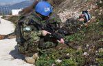 Liban : l'Escadron d'Eclairage et d'Investigation s'entraîne avec le bataillon espagnol