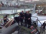 Visit to the Mérignac Dassault Aviation site by the French President