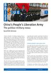 China's People's Liberation Army – The politico-military nexus