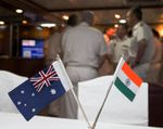 Australia and India in first maritime exercise
