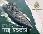 Indian Navy's New Destroyer 'Kochi' Revealed (Part I)