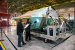 Northrop builds first F-35 centre fuselage for assembly in Japan