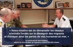EUNAVFOR MED Sophia : Interview du contre-amiral Bléjean