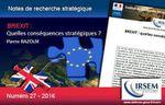 BREXIT : Quelles conséquences stratégiques ?