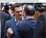 Tsipras encourage Hollande