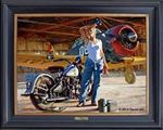 Women of Harley-Davidson Painting
